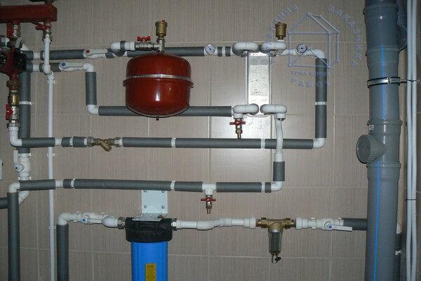 картинка: пример системы отопления